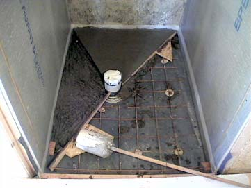 La salle de bain la douche italienne - Faire douche italienne beton ...